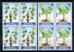 Guinea Ecuatorial 1984. Edifil 55-56 X 4 ** MNH. - Äquatorial-Guinea