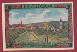 Allemagne 1 Notgeld De 50 Pfenning Stadt Neinstedt (RARE) UNC N °4524 - Collections