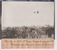 CIRCUIT DE L'EST TROYES  NANCY LEGAGNEUX S SOMMES EN VUE DE NANCY 18*13CM Maurice-Louis BRANGER PARÍS (1874-1950) - Aviación
