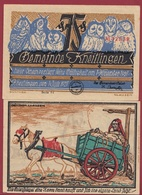 Allemagne 1 Notgeld De 75 Pfenning Stadt Kneitlingen (RARE) UNC N °4531 - Verzamelingen