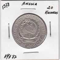 ANGOLA COIN - 20 KWANZAS 1978 - Angola