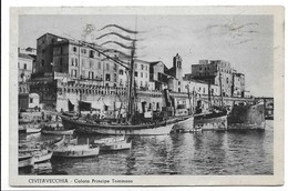 Civitavecchia (Roma). Calata Principe Tommaso. - Civitavecchia
