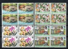 Guinea Ecuatorial 1985. Edifil 73-76 X 4 ** MNH. - Äquatorial-Guinea