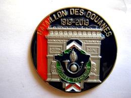 COIN DOUBLE FACE DES DOUANES FRANCAISES DU DEFILE DU 14 JUILLET 2019 ETAT NEUF - Police & Gendarmerie