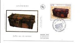 ANDORRE FDC 1999 COFFRE AUX 6 SERRURES - FDC