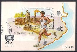Spanien (1988)  Mi.Nr.  Block 31  Gest. / Used  (3bl-02.12) - 1931-Heute: 2. Rep. - ... Juan Carlos I