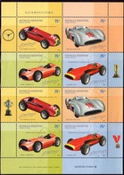 Argentina - 2001 - Course Automobile - Automovilismo - Yvert 2264 / 2267 - Blocks & Kleinbögen