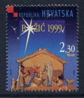 CROATIA 1999 Christmas MNH / **.  Michel 529 - Croatie