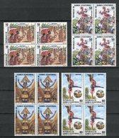 Guinea Ecuatorial 1986. Edifil 77-80 X 4 ** MNH. - Äquatorial-Guinea