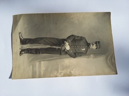CPA 1912 Photo D'un Soldat De La 17 ème Régiment Debout - Personnages