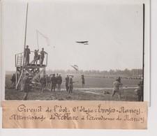 CIRCUIT DE L'EST TROYES NANCY  ATTERRISSAGE DE LEBLANC A L'AERODROME DE 18*13CM Maurice-Louis BRANGER PARÍS (1874-1950) - Aviación