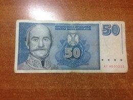 Yugoslavia 50 Dinars 1996 - Jugoslavia