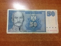 Yugoslavia 50 Dinars 1996 - Yugoslavia