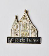 Pin's Eglise De France - RE/01 - Pin's