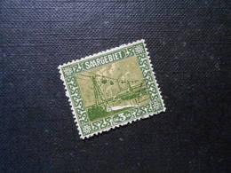 D.R.Mi 84 V / Abart Plattenfehler - Abstimmungsgebiete (Saargebiet) 1922 - Mi 20,00 € - Allemagne
