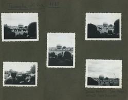 Une Page D'album. Trimphe à Saint-Cyr. École Militaire. Militaria. Préparatifs Du Baptème De La Promotion 1934. Ballon. - War, Military