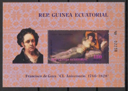 Guinée  équatoriale - 1978 - N°Mi. Bloc 301 - Goya - Neuf Luxe ** / MNH / Postfrisch - Äquatorial-Guinea