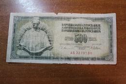 Yugoslavia 500 Dinars 1978 - Joegoslavië