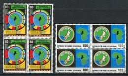 Guinea Ecuatorial 1986. Edifil 85-86 X 4 ** MNH. - Äquatorial-Guinea