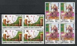 Guinea Ecuatorial 1986. Edifil 87-88 X 4 ** MNH. - Äquatorial-Guinea