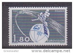 France 1980 Eurovision 1v ** Mnh  (44206) - Europese Gedachte