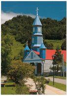 1 AK Chile / Island Chiloe * Ansicht Der Kirche In Tenaún - Seit 2000 UNESCO Weltkulturerbe * - Chile