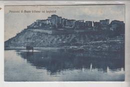 ACUTO FROSINONE PANORAMA RIFLESSO NEL LAGHETTO 1928 - Frosinone