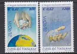 Europa Cept 2001 Vatican City 2v ** Mnh (44207) @ Face - 2001