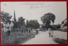 SAINT ELOY DE GY  Place De L'eglise - Other Municipalities