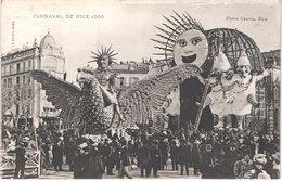 FR06 NICE - Le Carnaval - 1906 - SM Carnaval - Animée - Belle - Carnevale