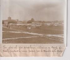 AEROPLANES MILITAIRES CAMP DE MAILLY MINISTRE DE LA GUERRE 18*13CM Maurice-Louis BRANGER PARÍS (1874-1950) - Aviación