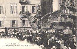 FR06 NICE - Le Carnaval - 1906 - SM Carnaval - Animée - Belle - Carnaval
