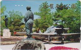 AIRPLANE - JAPAN-230 - MILITARY - STATUE - Airplanes