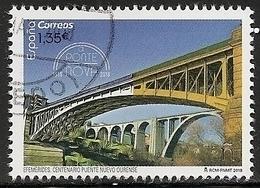 2018-ED. 5228 - Centenario Del Puente Nuevo De Ourense -USADO - - 2011-... Gebraucht