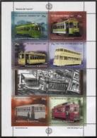 Argentina - 1997 - Histoire Du Tramway - Yvert 1971 / 1976 - Hojas Bloque