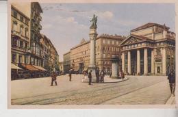 TRIESTE  PIAZZA DELLA BORSA  NICE STAMP  1934 - Trieste