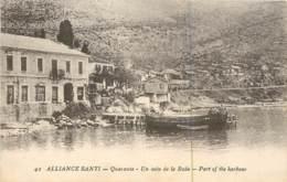 Albanie - Alliance Santi - Quaranta - Harbour - Armée D'Orient 1918 - French Soldier Correspondance - Albania