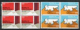 Guinea Ecuatorial 1987. Edifil 92-93 X 4 ** MNH. - Äquatorial-Guinea