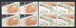 Guinea Ecuatorial 1987. Edifil 94-95 X 4 ** MNH. - Äquatorial-Guinea