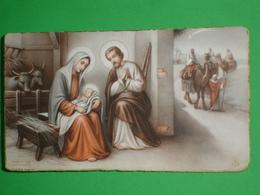 FB 325 - Adorazione RE MAGI /S.NATALE 1949 Presepio BAMBINO Gesù/ Santino Vecchio  F.lli Bonella - Images Religieuses