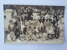 CPA 1912 Photo De Vie  Costumes D'époque  ( Royan ) - Photographs