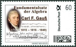 GAUSS, C.F. - Fundamental Theorem Of Algebra - Mathematics, Mathematician - Marke Individuell - Wissenschaften