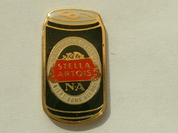 PIN'S BIERE STELLA ARTOIS - LA CANETTE - Bière