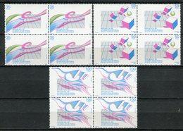 Guinea Ecuatorial 1987. Edifil 98-100 X 4 ** MNH. - Äquatorial-Guinea