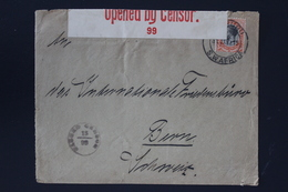 South African Occupation Of Southwest Africa Forerunner  31-1-1916 Umaruru -> Bern Int. Peace Bureau - Südafrika (...-1961)