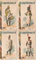 Lot De 37 CHROMOS - Chocolat Compagnie Française - Uniformes - Other