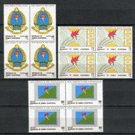 Guinea Ecuatorial 1988. Edifil 101-103 X 4 ** MNH. - Äquatorial-Guinea