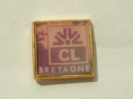 PIN'S CREDIT LYONNAIS - BRETAGNE - Banques