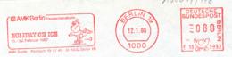 Freistempel 3704 Holiday On Ice Schlittschuhläufer - Marcophilie - EMA (Empreintes Machines)
