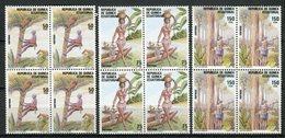Guinea Ecuatorial 1988. Edifil 104-106 X 4 ** MNH. - Äquatorial-Guinea